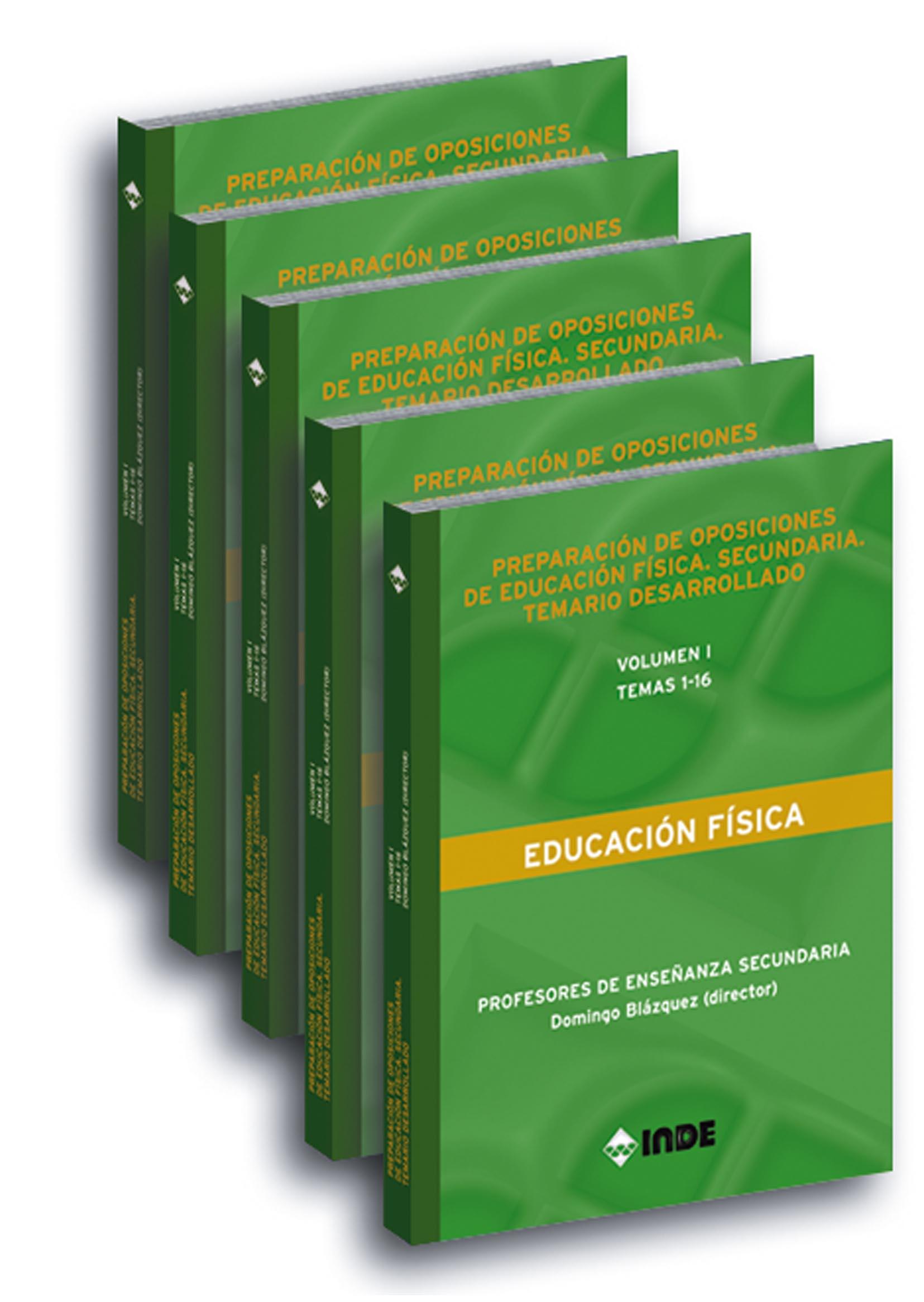 EDITORIAL INDE - Preparación de oposiciones de Educación Física ...